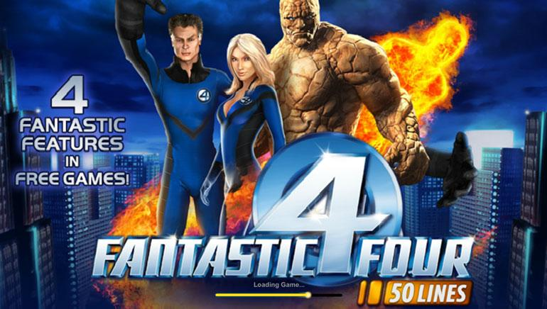 Fantastic Four Nyerőgép Online