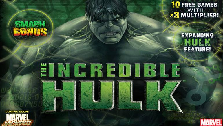 The Incredible Hulk Nyerőgép Online