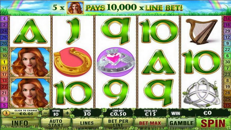 Irish Luck Nyerőgép Online