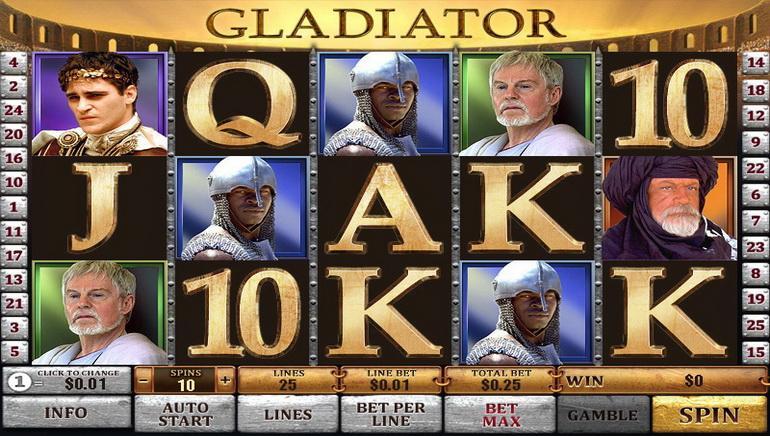 Gladiator Nyerőgép Online